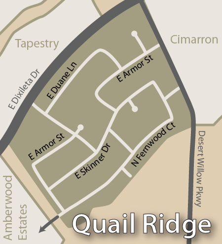 Quail Ridge Map