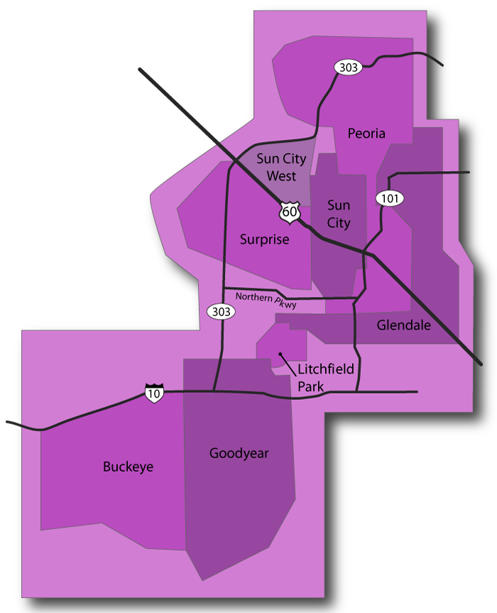 West Valley Map