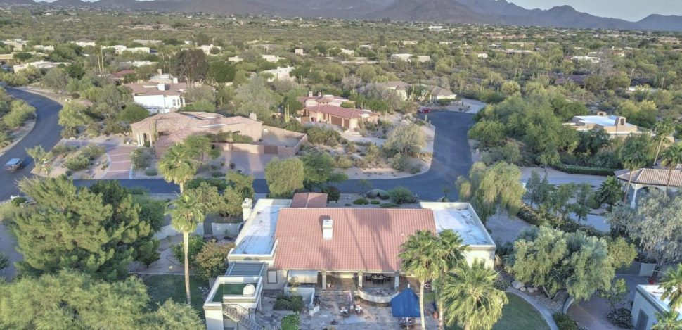 Troon North aerial photo